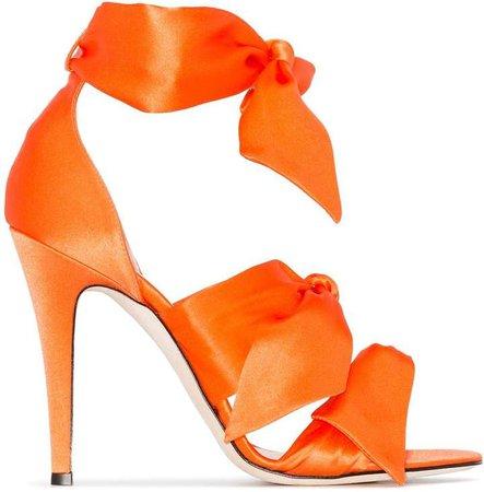 Gia Katia 120mm bow sandals