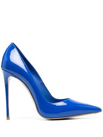 Shop blue Le Silla Eva pumps with Afterpay - Farfetch Australia