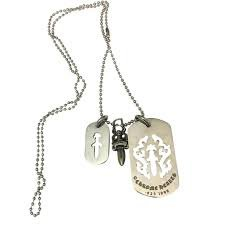 chrome hearts dog tag - Google Search