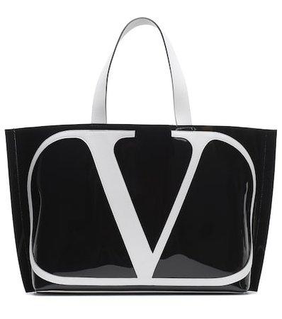 Valentino Garavani VLogo Beach PVC shopper