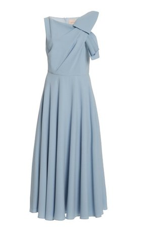 Brigitte Draped Midi Dress By Roksanda | Moda Operandi