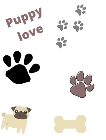 Puppy love (credit me please if use)