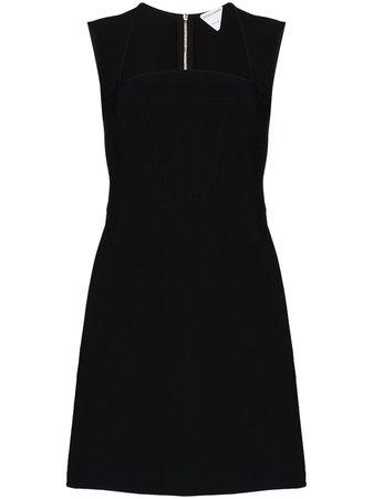Bottega Veneta square-neck Mini Dress - Farfetch