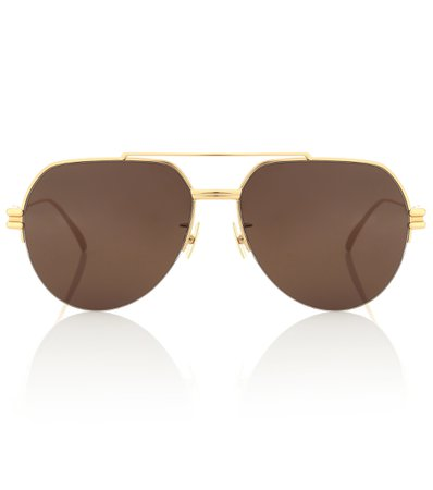 Bottega Veneta, Aviator Sunglasses