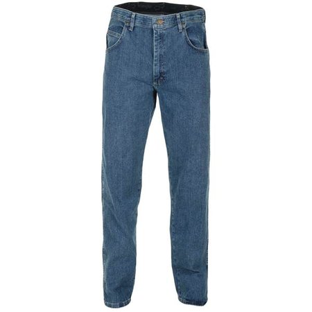 Wrangler Men's Light Stone Relaxed Fit Performance Jeans