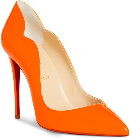 Hot Chick Fluorescent Patent Leather Pump