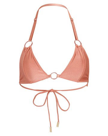 Cult Gaia Misha Triangle Bikini Top | INTERMIX®