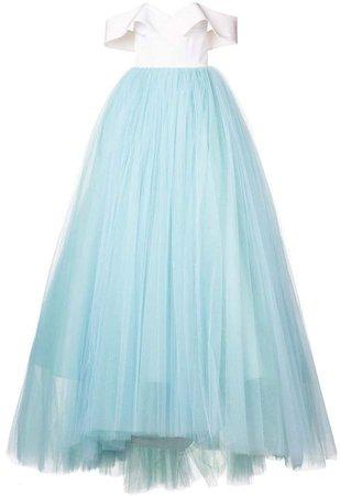 tulle skirt ball gown