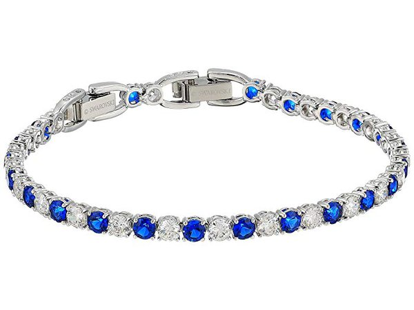 Swarovski Tennis Deluxe Sapphire Bracelet