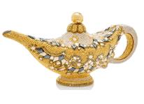 Judith Leiber Couture Disney Aladdin Genie Lamp