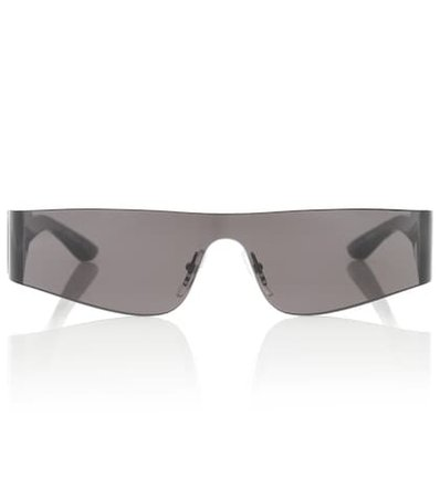 Mono rectangular sunglasses
