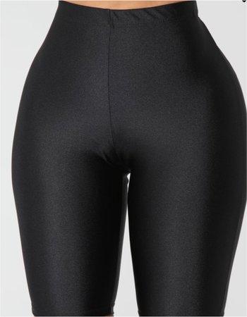 Curves For Days Biker Shorts - Black