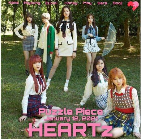 HEARTz Puzzle Piece group teaser 2