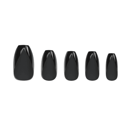 Marmalade Nails - Blackout Coffin   Matte Black Press-on Nails