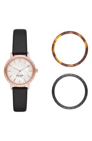 kate spade new york | Women's Metro Classic Strap Watch, 34mm | Nordstrom Rack