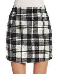Black and White Plaid Skirts for Women | Women's Fashion | Lookastic.com