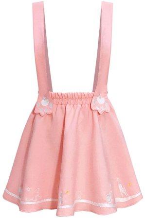 Cat overall skirt
