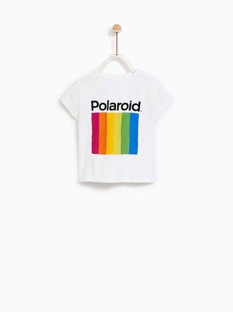 POLAROID® T - SHIRT-TOPS-SALE-BABY GIRL | 3 months-4 years-KIDS | ZARA United Kingdom