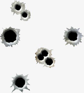 Gun Hole, Bullet Holes, Bullet, Holes PNG and PSD File for Free Download