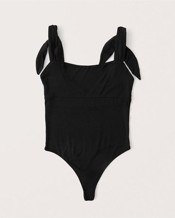 Women's Bare Shoulder-Tie Bodysuit | Women's New Arrivals | Abercrombie.com
