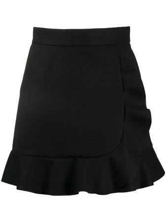 RedValentino Frilled Hem high-waisted Skirt - Farfetch