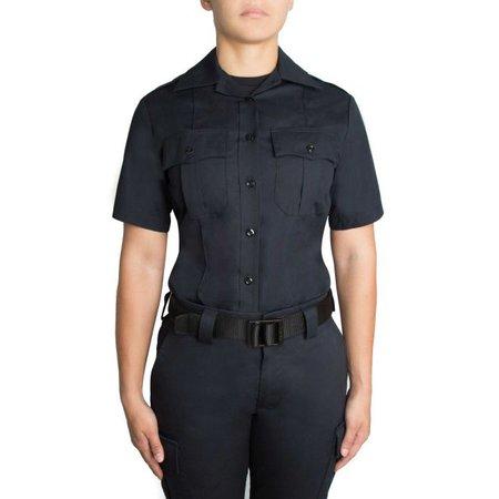 Womens Class A Police Uniform Shirt - Short Sleeve Cotton Shirt - 8421W - Blauer | Blauer