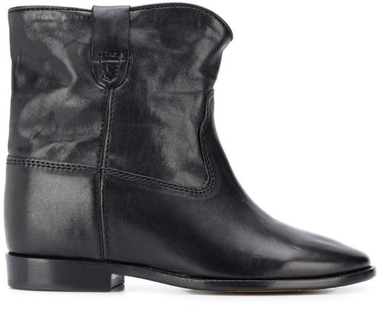 Crisi concealed-wedge ankle boots