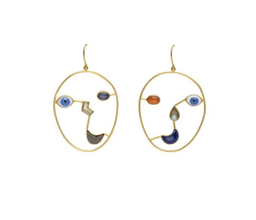 EARRINGS: FACE — Grainne Morton
