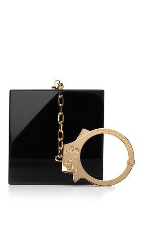 Handcuff Perspex Clutch by Charlotte Olympia | Moda Operandi