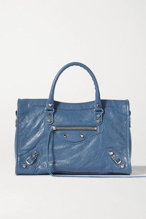 Balenciaga | Classic City textured-leather tote | NET-A-PORTER.COM