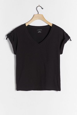 Mischa V-Neck Tee | Anthropologie