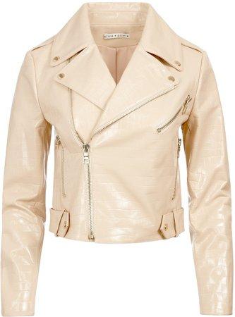 Cody Croc Leather Jacket