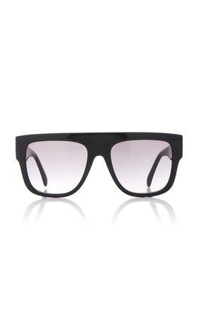 Alaia Sunglasses L'Arabesque Studded Acetate Sunglasses