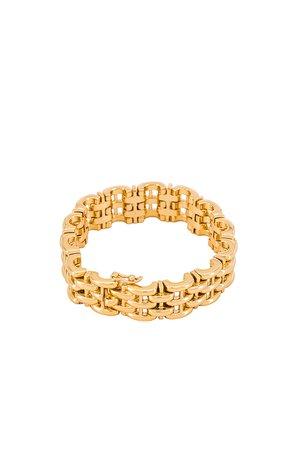 Dorsey Clarette Bracelet in Gold | REVOLVE