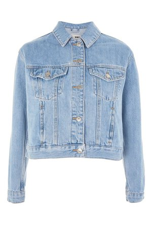 Fitted Western Denim Jacket | Topshop