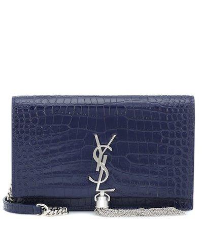 Kate Tassel embossed leather shoulder bag