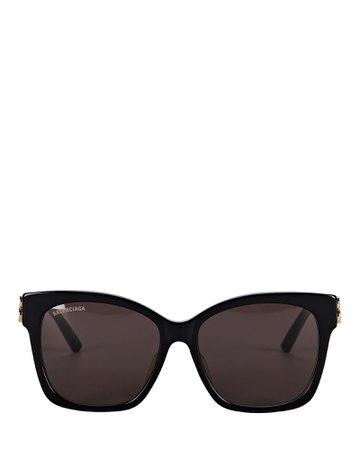 Balenciaga Vintage Square Sunglasses | INTERMIX®