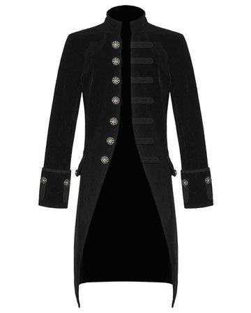 Black Victorian Trench Coat