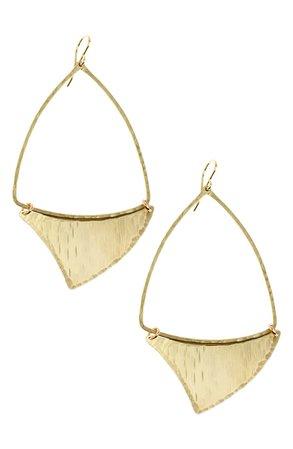 Nashelle Shark Fin Drop Earrings   Nordstrom