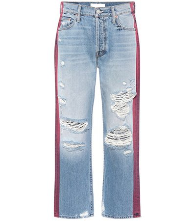 Thrasher cropped jeans