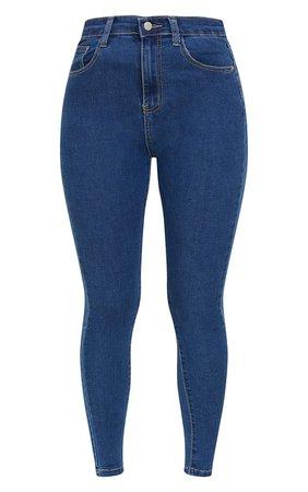 Plt Light Wash 5 Pocket Skinny Jean | Denim | PrettyLittleThing
