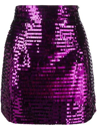 Amen Sequinned Mini Skirt - Farfetch