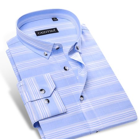 Men-s-Sky-blue-White-Horizontal-Stripes-Shirt-No-pocket-Long-Sleeve-Comfy-Soft-100-Cotton.jpg_640x640.jpg (640x640)