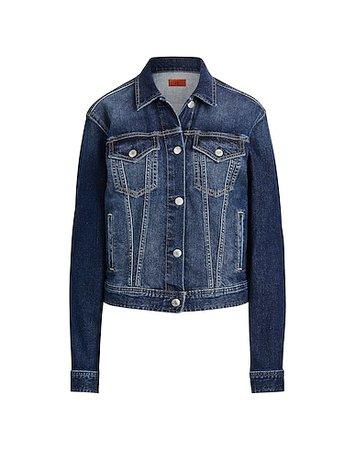 Lauren Ralph Lauren Denim Jacket - Denim Jacket - Women Lauren Ralph Lauren Denim Jackets online on YOOX United States - 42782657XO