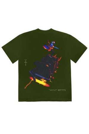 Travis Scott Astro Cyclone T-Shirt | Urban Outfitters