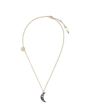 "Sole Society 18"" Moon Necklace 