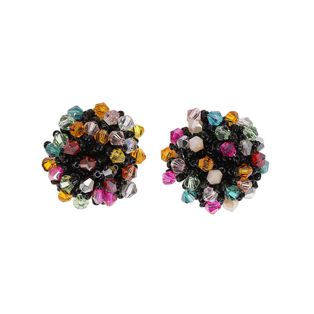JESSICABUURMAN – JAKIL Crystal Ear Studs Earrings - Pair