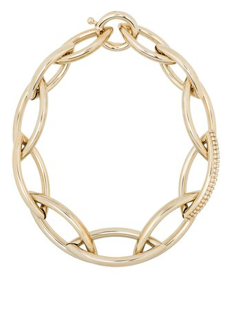 Rosantica crystal-embellished chunky-chain Necklace - Farfetch