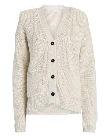 Parentezi Chunky Knit Padded Shoulder Cardigan   INTERMIX®