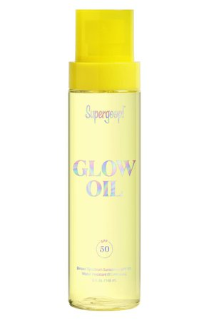 Supergoop! Glow Oil Body Oil SPF 50 Sunscreen | Nordstrom